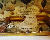 Vintage Box, Original Clarks and Co Anchor Crochet Cotton With Cotton and Treasure Inside, Vintage Sewing Items, Vintage Notions