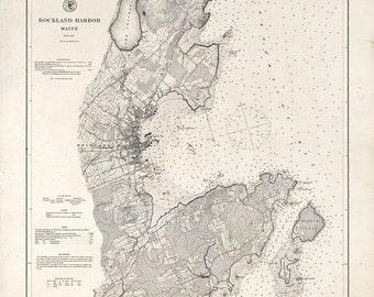 Rockland Harbor – 1895