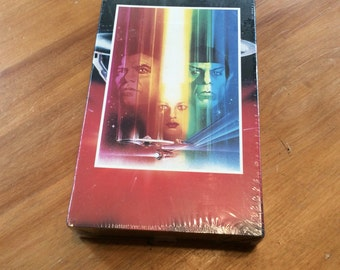 Star Trek The motion picture VHS Sealed video tape vintage 1991 by sunandpearl on etsy