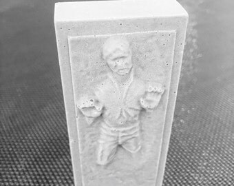 Hans Solo Carbonite - Star Wars  Gift - Gift for Him - Star Wars Soap - Stocking Stuffer - Star Wars Birthday
