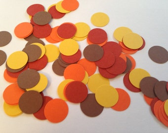Fall Confetti,Thanksgiving Confetti, Thanksgiving Table, Harvest Party, Fall Cut Out, Fall Colors, Harvest Confetti, School Party, Wedding