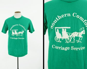 Vintage Carriage Service T-shirt Southern Comfort Nashville Tennessee - Size Large