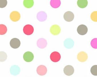 Sunrise Studio 2 - Fog Polka Dot from Lakehouse Dry Goods