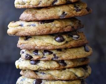 Dairy, Soy, Gluten Free Vegan Oatmeal Chocolate Chip Cookies!!! 9 jumbo cookies!