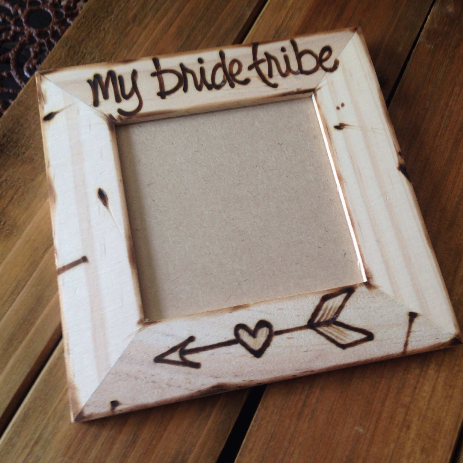 my bride tribe Wedding Pic Frame for Bride-to-Be • Best friends ...
