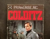 World War 2 book Colditz the Latter Days by P. R. Reid vintage 1970s paperback tv tie-in book
