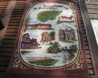 Constable County Souvenir Tea Towel
