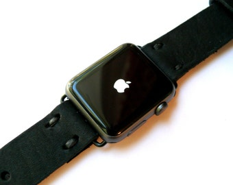 Leather Apple Watch band 42mm leather watch band, Apple watch strap, iwatch band, apple watch 2 leather band, gold apple watch strap