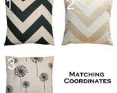 SALE Toss Pillows- Premier Prints Denton Pillow Cover- All Sizes- Zippered Pillow- You Choose- Burlap Pillows- Cushion Cover- Throw