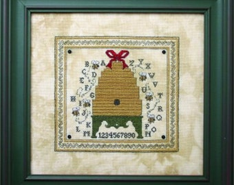 Sweetheart Tree Bee Cottage Counted Cross Stitch Kits in a Variety of Designs