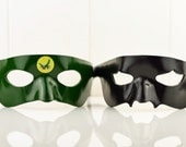Combined Listing.The GREEN HORNET and KATO Mask  Green Hornet Cosplay Costume Kato Cosplay Costume Green Hornet Fancy Dress Kato Fancy Dress