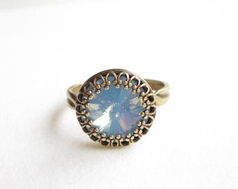 Ring,rings,vintage style ring,boho ring, Crystal ring ,adjustable ring,verstellbarer ring,
