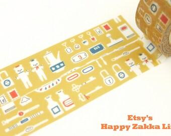 ON SALE - Flea Market - Space Craft - Japanese Washi Masking Tape - 11 yard