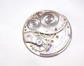 Antique 39mm Etched Pocket Watch Movement