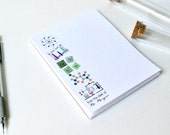 Personalized Notepad, Teacher Notepad, Chemistry Teacher Notepad, Science Teacher Notepad