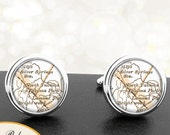 Cufflinks Takoma Park Maryland Handmade Cuff Links City State Maps MD Groomsmen Wedding Party Fathers Dads Men