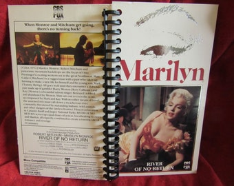 River of No Return VHS notebook