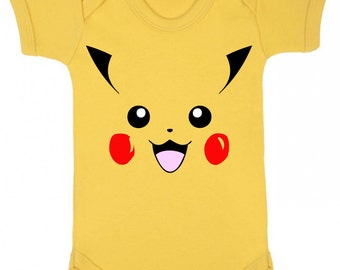 Pikachu Inspired Baby Vest