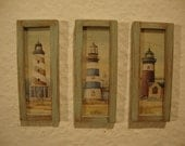 RESERVED for  Lafeifer dollhouse miniature  3 little pictures shabby chic