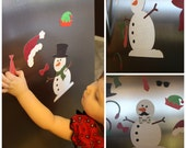 Dress a Snowman Magnetic Play Activity