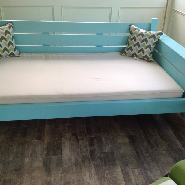One Custom Twin Size Mattress Cover for INDOOR Daybed