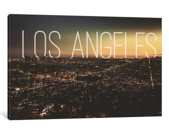 iCanvas L.A. Gallery Wrapped Canvas Art Print by 5by5collective