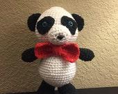 Crochet Panda Bear - Ready to Ship