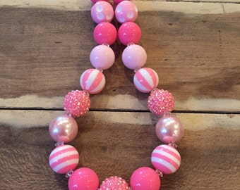 Chunky Bubblegum Necklace *ready to ship