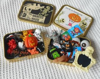 Halloween Mini Tin Instant Collection 2 Tins