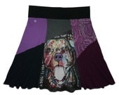 Plus Size 1X 2X Upcycled Hippie Skirt Women's recycled clothing from Twinkle