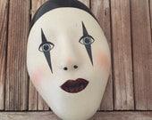 Vintage Harlequin Mask Box