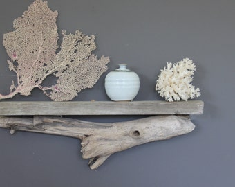 Natural Driftwood Shelf / Size MEDIUM