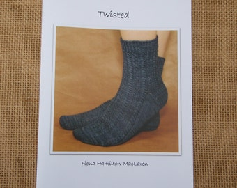 Knitting pattern- Twisted