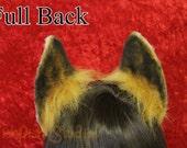 Flexi Fox Ear Headband - vulpine fox foxy Ears Poseable - great for furries fursuits gijinka nick wilde and Zootopia