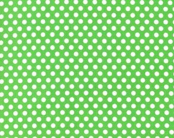 Mint Green Kiss Dots from Michael Miller