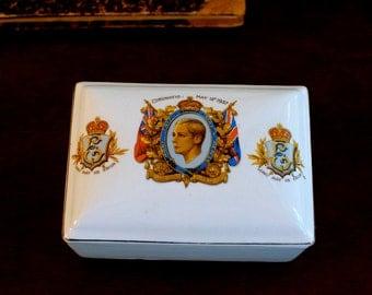 royal memorabilia 1937 coronation Edward VIII