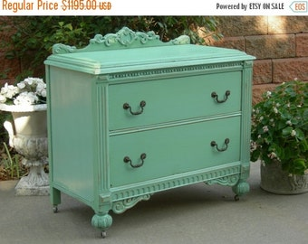 15% OFF AWESOME DRESSER Order A Restored Painted Antique Dresser! Bedroom Bath Baby Living Antique Shabby Chic Furniture Chest of Drawers