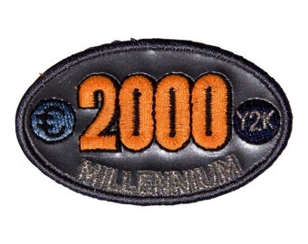 2000 Millenium Euro Patch X American Deadstock Patches
