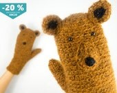 Bear Mittens / Gloves ~ FREE Shipping Worldwide