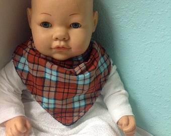 baby, baby bib, scarf bib, bandana bib, baby shower, new baby, baby accessories, 3 style choices, boy or girl