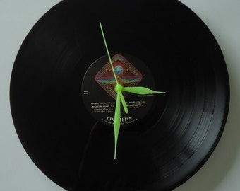 Journey Vinyl Record Clock