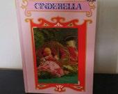 Vintage 3D Children's Book - Cinderella - A RoseArt 3D Book - 1970s