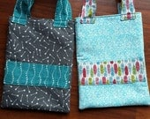 Custom Order for Sarah - 2 Crayon Totes