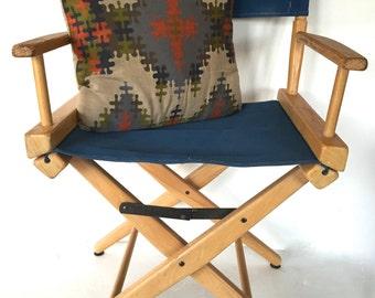 Vintage folding directors chair