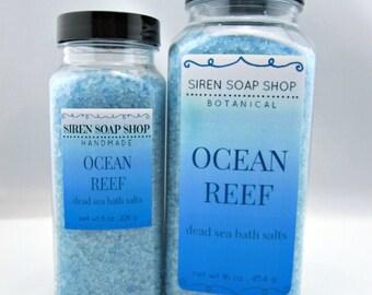 Ocean Reef Dead Sea Bath Salts, Bath Salts, Aqua