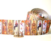 """Haunted Mansion Portraits- 1 1/2"""" grosgrain ribbon - by the yard"""