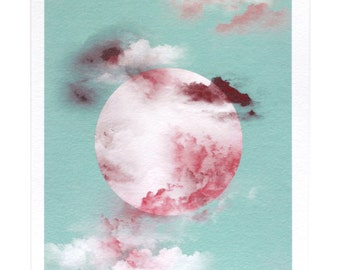pastel planet   PRINT