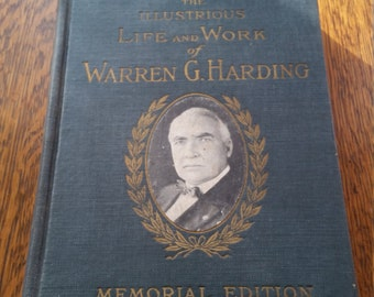 an introduction to the life of warren g harding Warren g harding served as 29th president of the a life in print harding's father became a newspaper first pet — with an introduction by founder and.