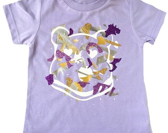 SALE 2t The Picasso Shirt | lavender | unique | one of a kind | kids style | Kids Shirt | Toddler shirts | Eclectic