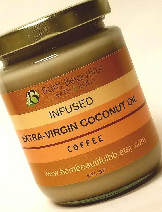 Extra virgin coconut oil for hair